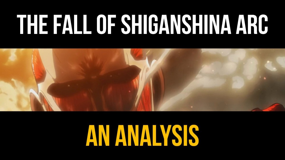 Featured image for Attack On Titan Analysis & Review | GITM Podcast Ep. 67: The Fall of Shiganshina Arc