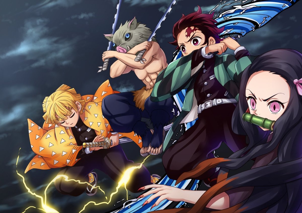 Background image for Anime Review 169 Demon Slayer: Kimetsu no Yaiba