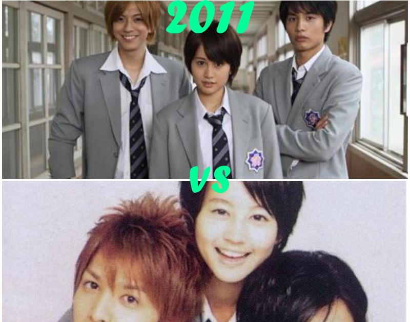 Featured image for Hana Kimi: 2007 Vs 2011  The Kitten Who Eats Ramen