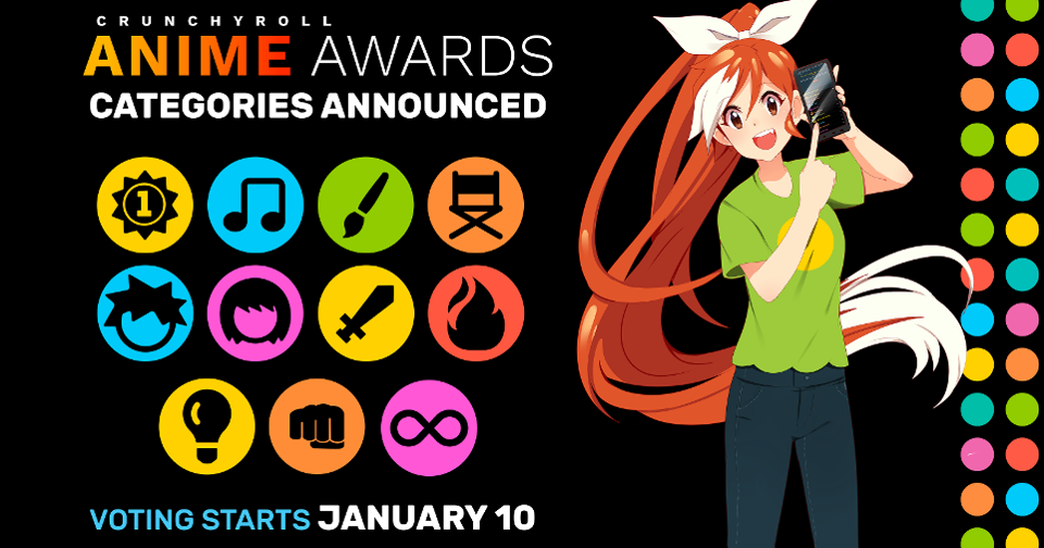 Featured image for Nominees For The 2019 Crunchyroll Anime Awards :