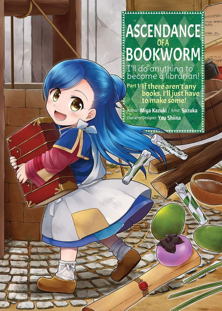 Featured image for Ascendance of a Bookworm Part 1 Volume 1 (Manga Review)