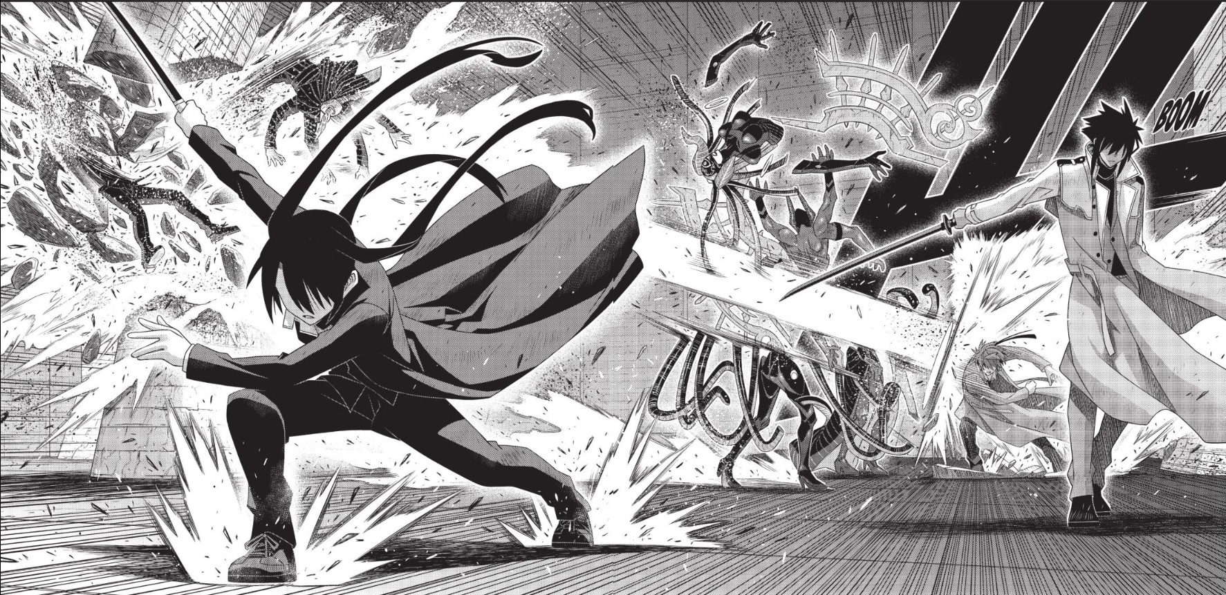 Featured image for UQ Holder Chapter 178 Manga Review (Rescue Rangers)