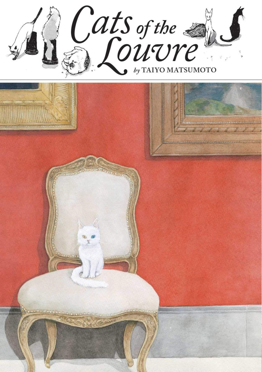 Featured image for Caturday Treat: Why You Should Read Cats of the Louvre