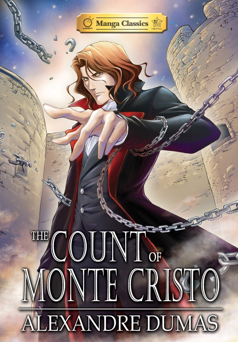Featured image for The Count of Monte Cristo Manga Classics Review (#Sponsored)