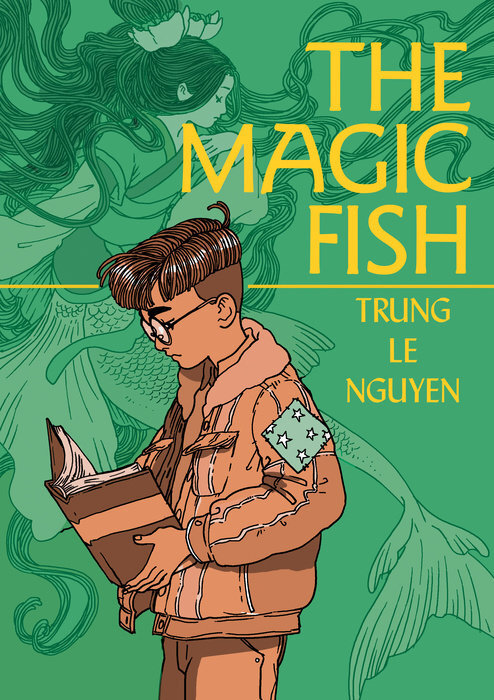 Featured image for The Magic Fish by Trung Le Nguyen Graphic Novel Review