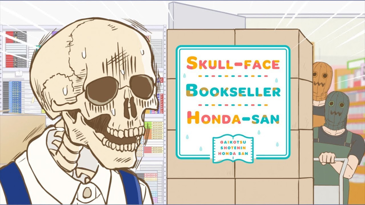 Featured image for Skull-Face Bookseller Honda-san (2)