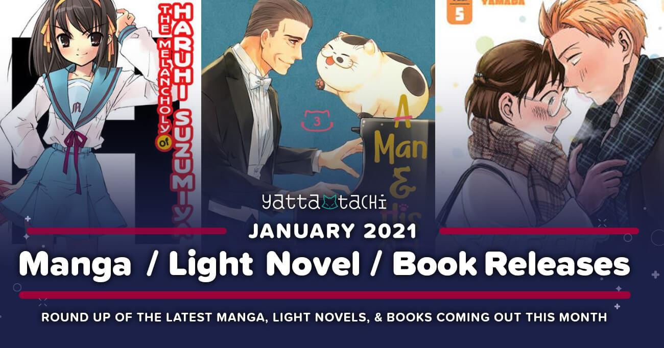 Featured image for January 2021 Manga / Light Novel / Book Releases