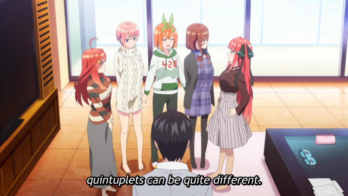 Featured image for First Impression: The Quintessential Quintuplets Season 2