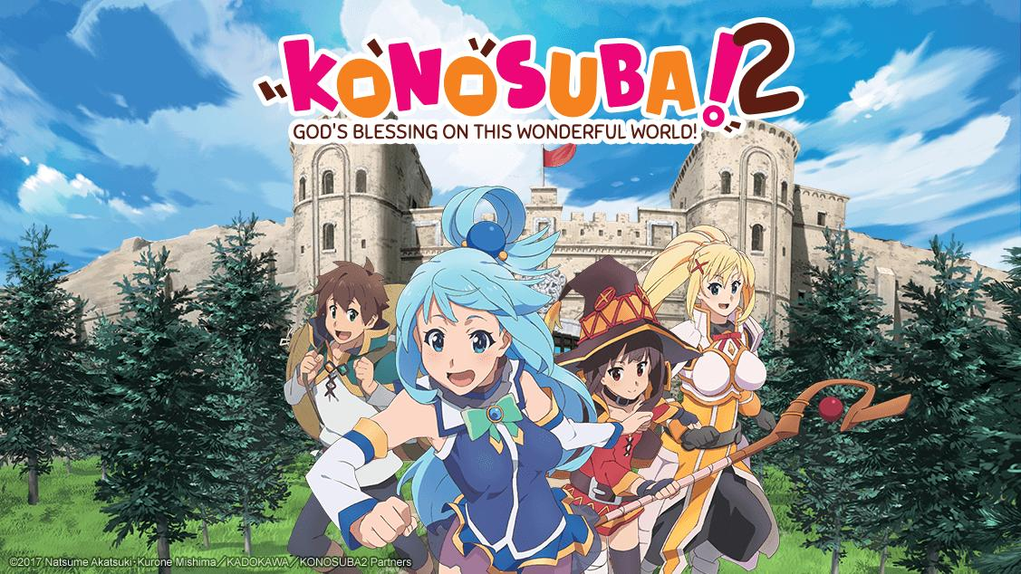 Featured image for KonoSuba: God's Blessing on this Wonderful World( Intro )
