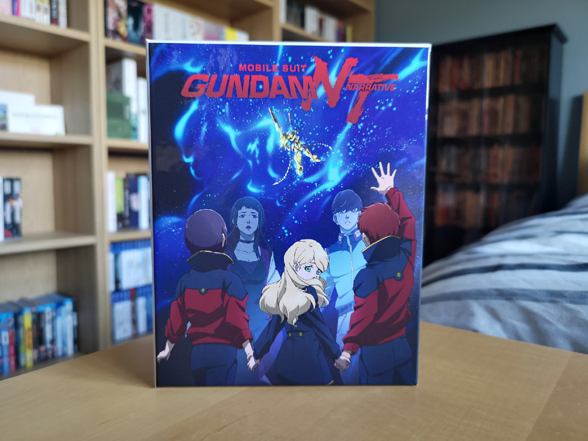 Background image for Mobile Suit Gundam Narrative (Collector's Edition Blu-ray) Unboxing