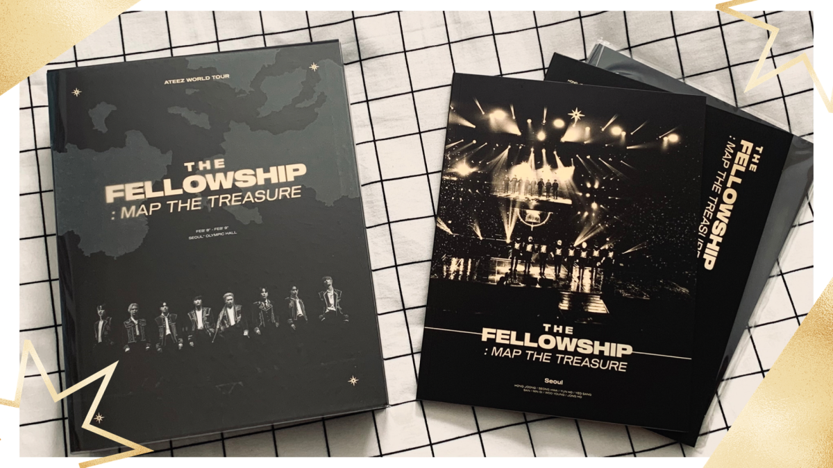 Featured image for Ateez The Fellowship: Map the Treasure Concert DVD || K-pop Unboxing