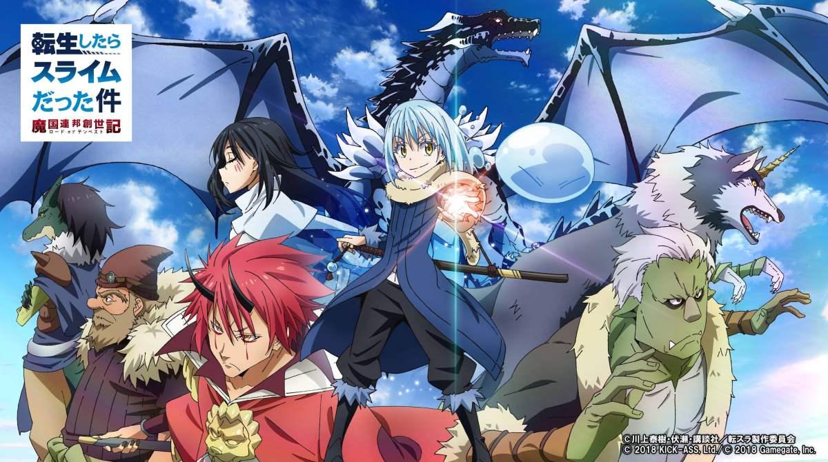 Featured image for Tensei shitara Slime Datta Ken 2nd Season – Episode 1