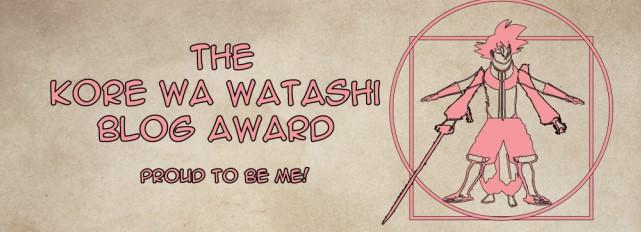 Featured image for Kore wa Watashi Award