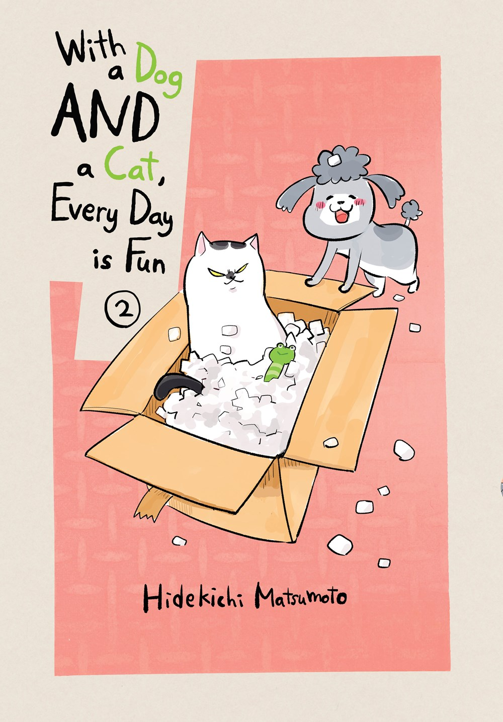 Featured image for With a Dog AND a Cat, Every Day is Fun Volume 2 Review