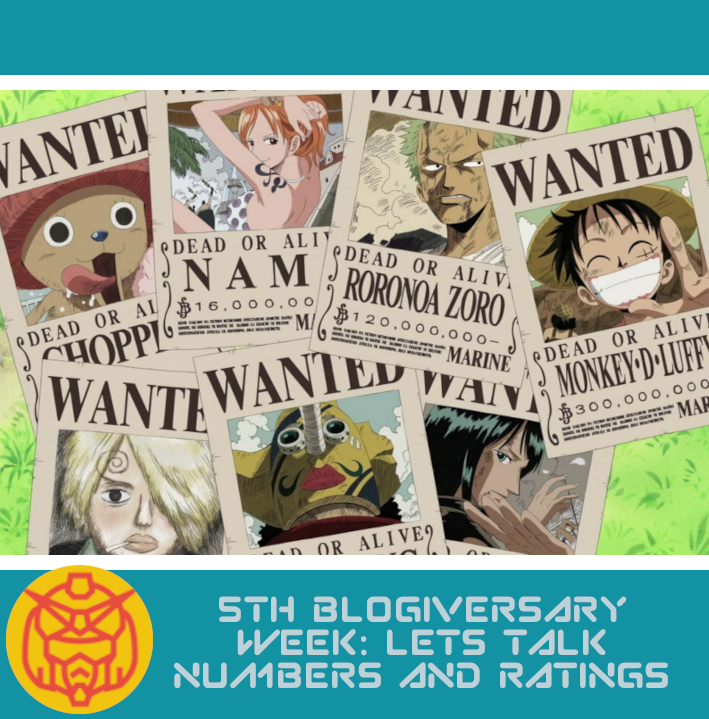Featured image for 5th Blogiversary Week: Let's Talk Numbers and Ratings