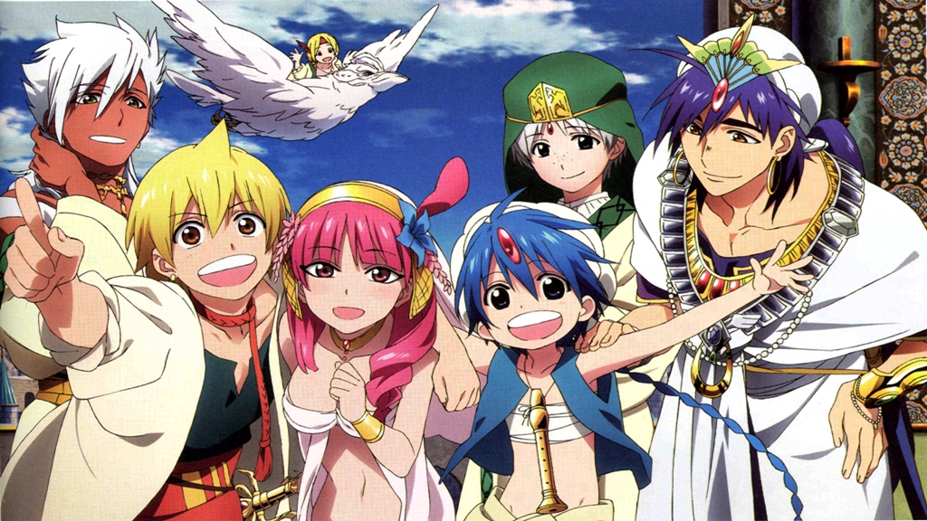 Featured image for Magi Review – An Underrated Gem in the Shounen World