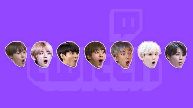 Featured image for Twitch Replaces PogChamp Emote with BTS Variants