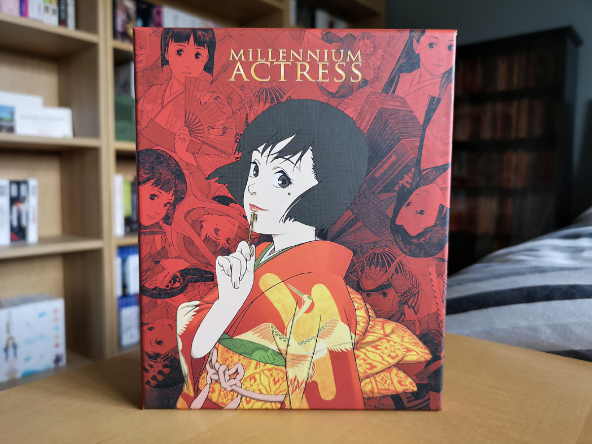 Featured image for Millennium Actress (Collector's Edition 4K Ultra HD & Blu-ray) Unboxing