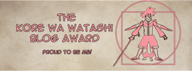 Featured image for The Kore Wa Watashi Blog Award