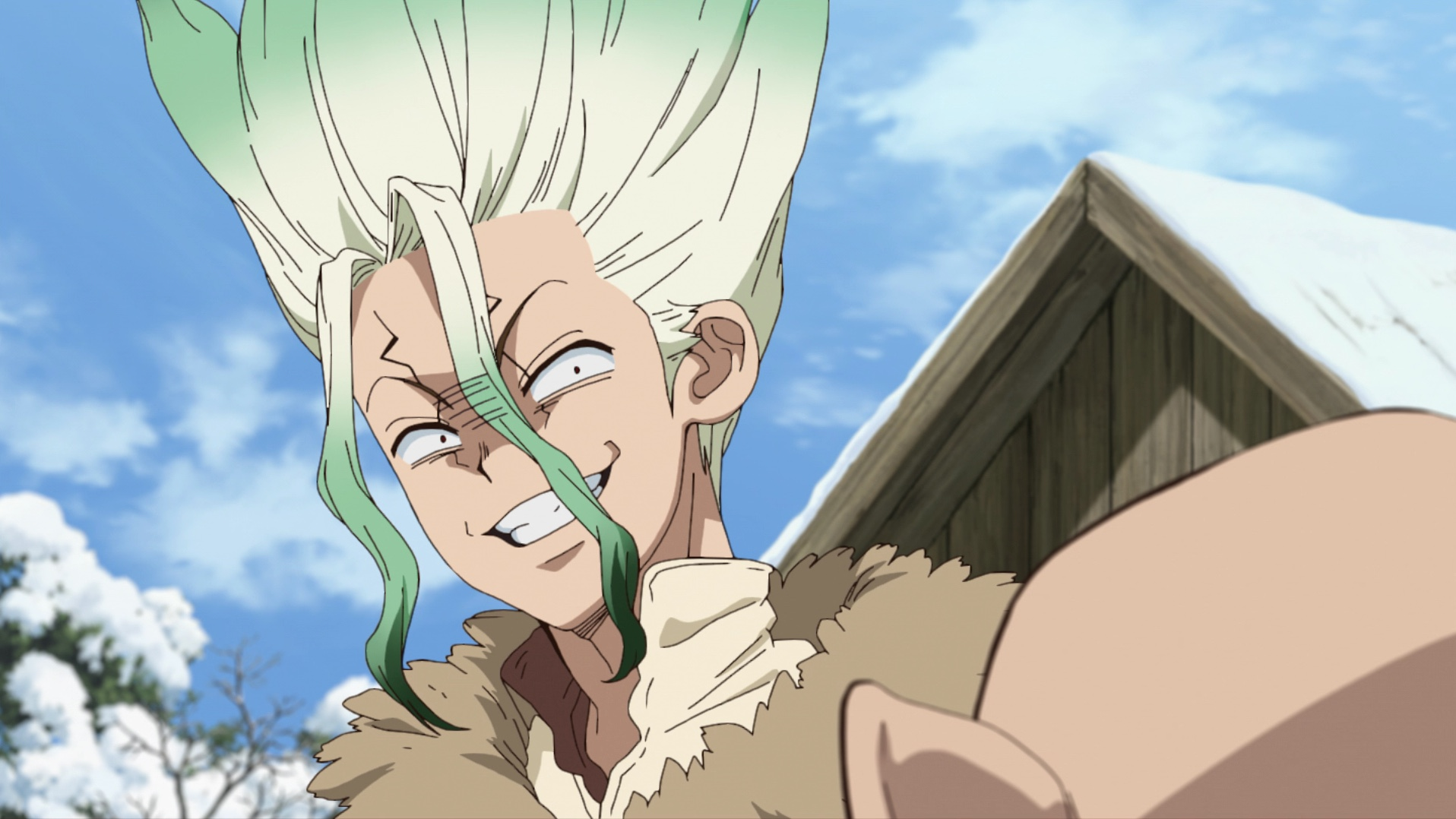 Featured image for Dr. Stone Season 2 Episode 1