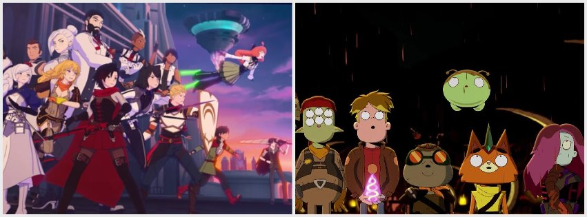 Featured image for Anime Pocket Reviews Ep. 66 – RWBY 7, Final Space 2