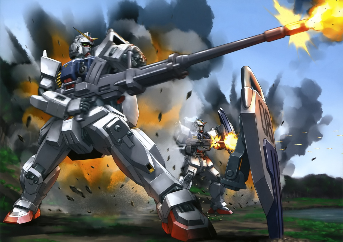 Featured image for Anime Review 172 Mobile Suit Gundam The 08th MS Team