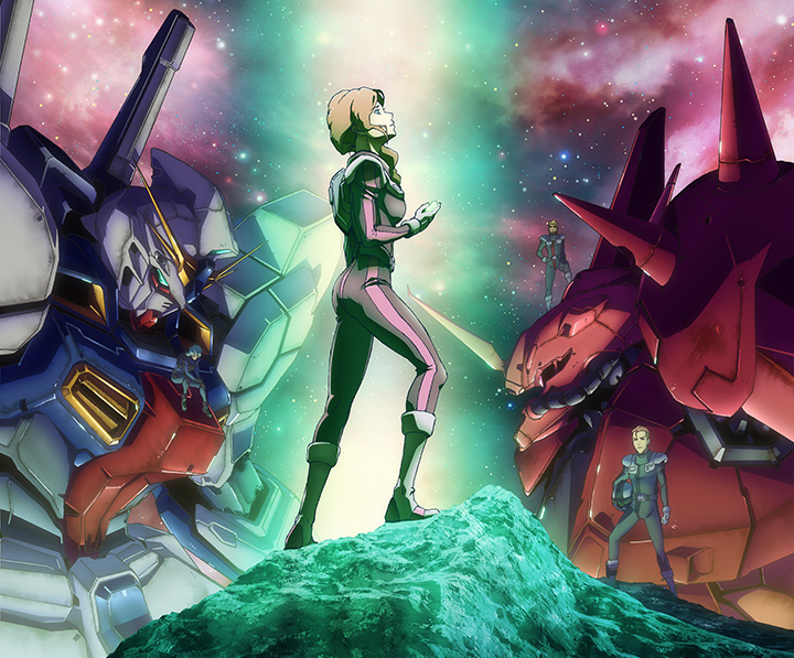 Featured image for Anime Review 173 Mobile Suit Gundam Twilight AXIS