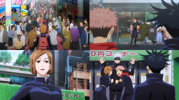 Featured image for Jujutsu Kaisen – 03 – Gauging the Crazy