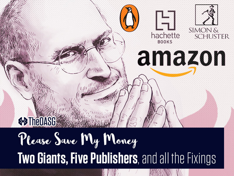 Featured image for Two Giants, Five Publishers, and all the Fixings