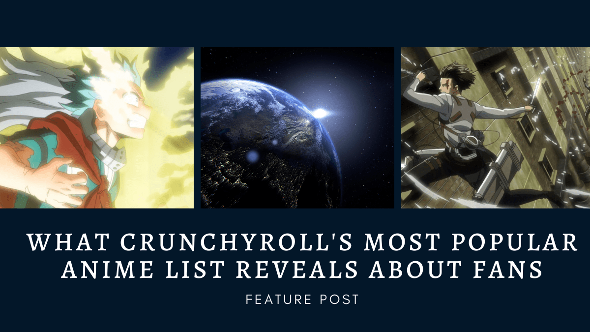 Featured image for What Crunchyroll's Most Popular Anime List Reveals About Fans