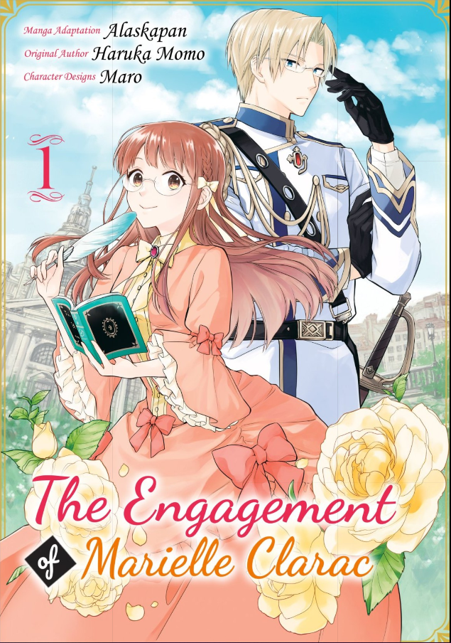 Featured image for The Engagement of Marielle Clarac Manga Volume One Review