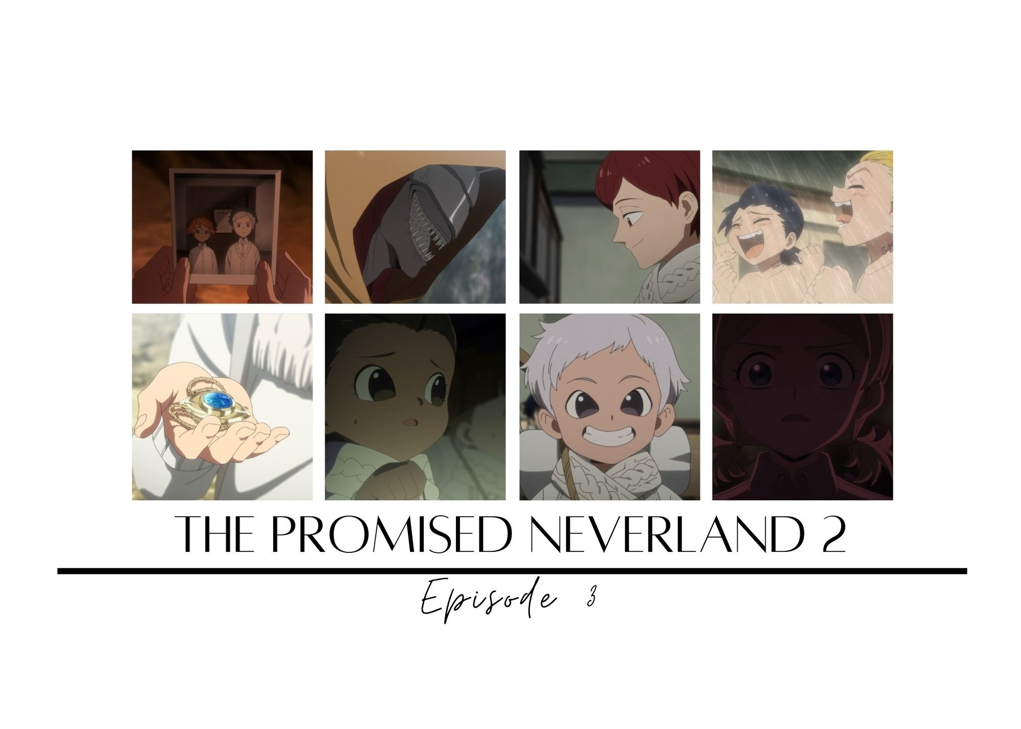 Featured image for The Promised Neverland 2 episode 3 – A Scavenger Hunt