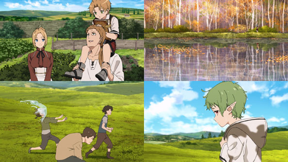 Featured image for Mushoku Tensei: Jobless Reincarnation – 03 – Childhood Friend