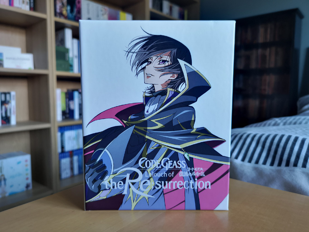 Featured image for Code Geass: Lelouch of the Re;surrection (Collector's Edition Blu-ray & DVD) Unboxing