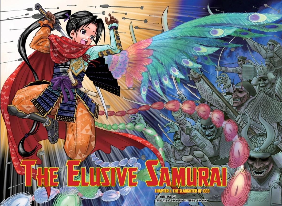 Featured image for Manga First Impression: The Elusive Samurai
