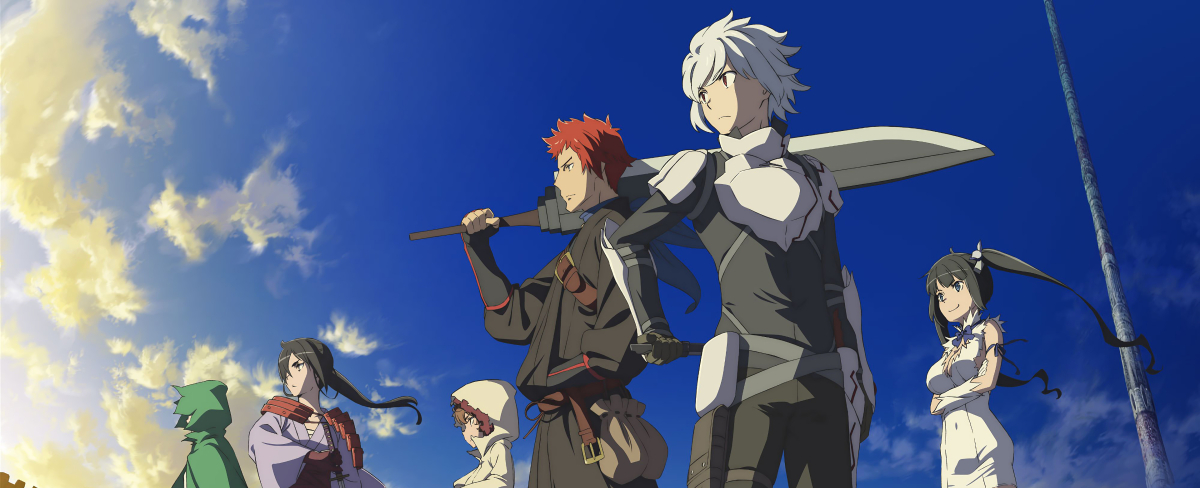 Featured image for 'Is It Wrong to Try to Pick Up Girls in a Dungeon?'; The Best Series You Didn't Give A Chance