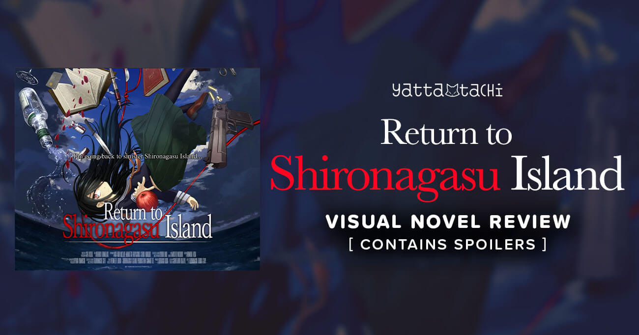 Featured image for Return to Shironagasu Island Visual Novel Review (Spoilers)