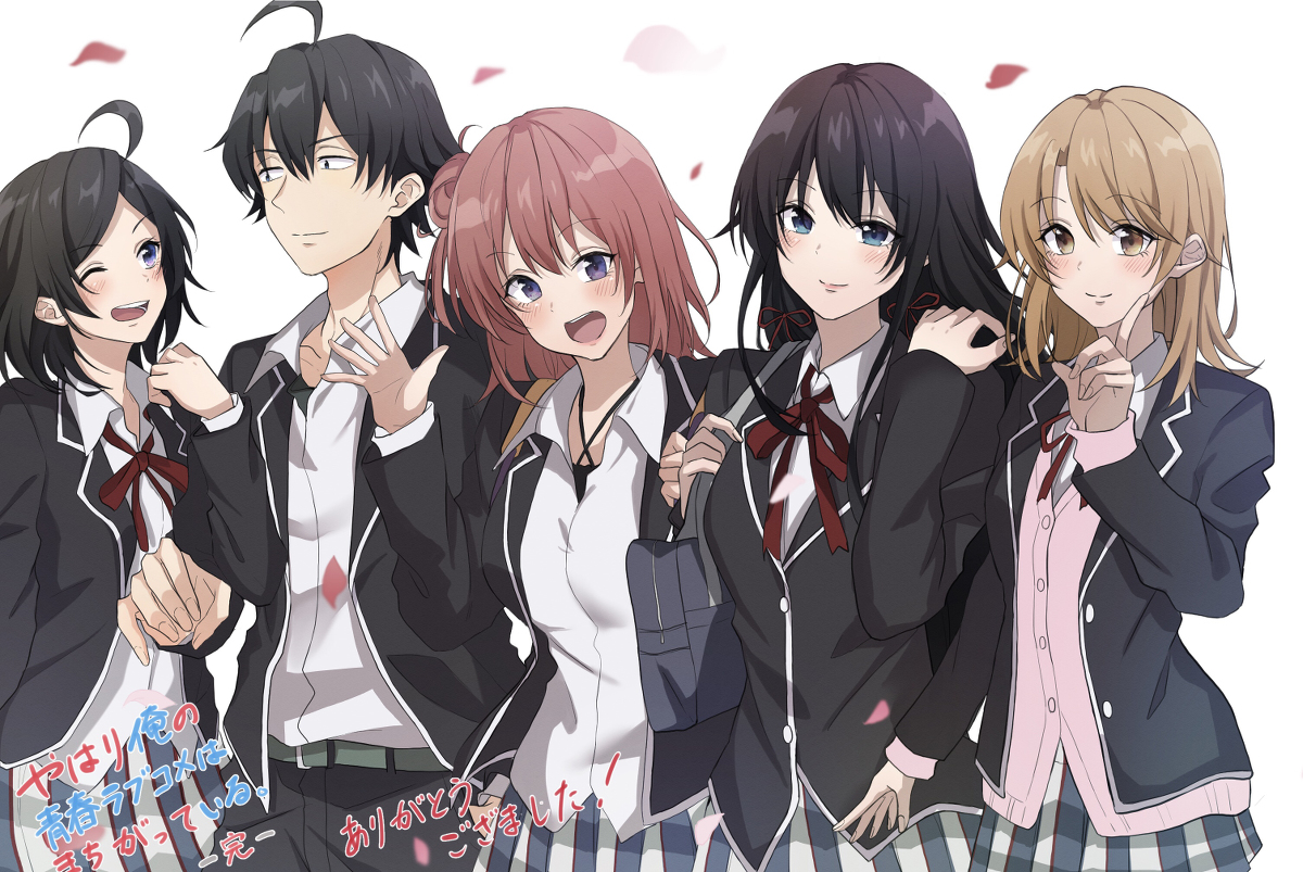 Background image for Seven AU Spinoffs I'd Rather Watch Than the New Oregairu OVA