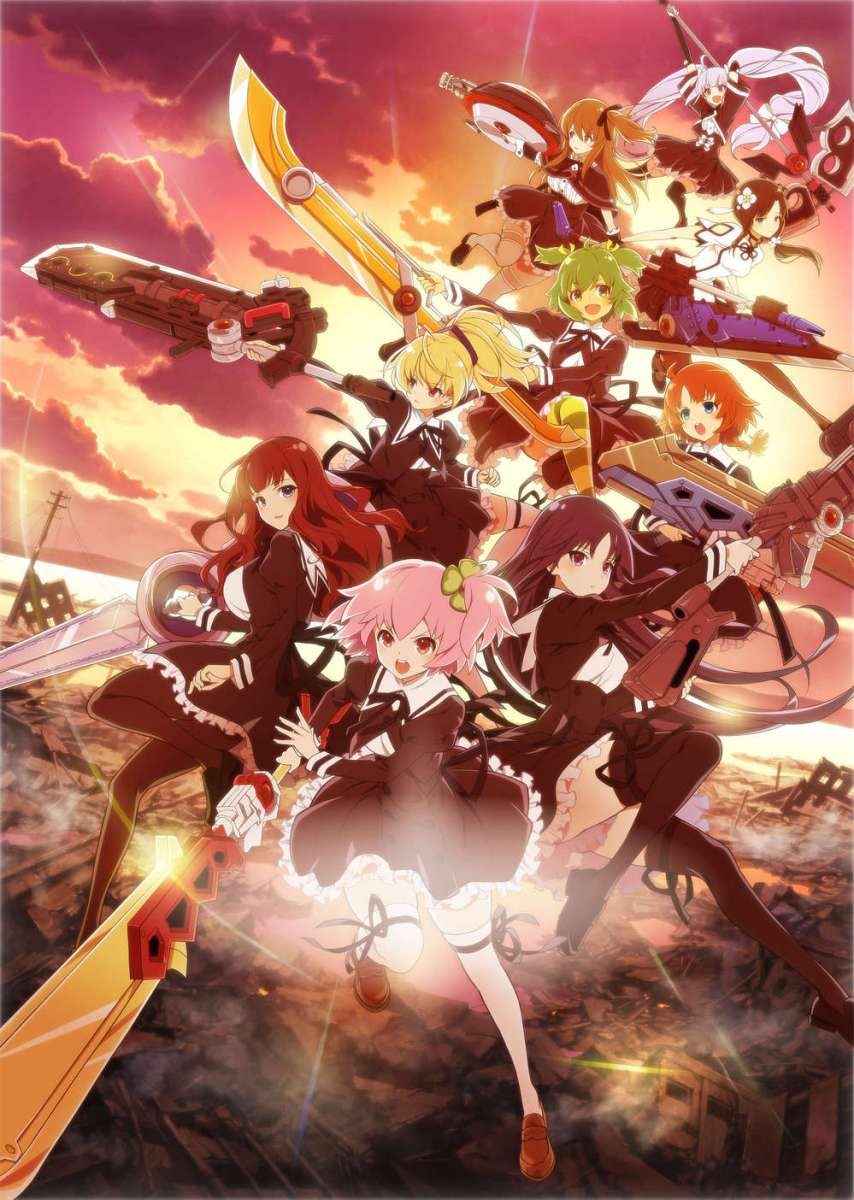 Featured image for Anime Review – Assault Lily: Bouquet