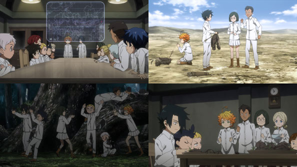Featured image for The Promised Neverland – 16 – Too Good To Be True
