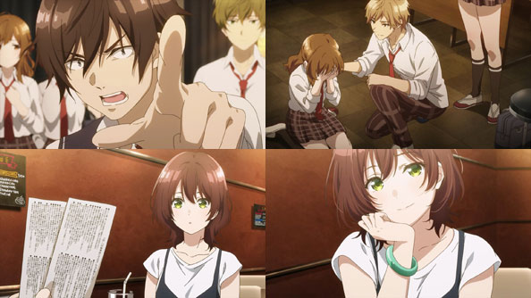 Featured image for Jaku-Chara Tomozaki-kun – 04 – Standing Up to the Queen