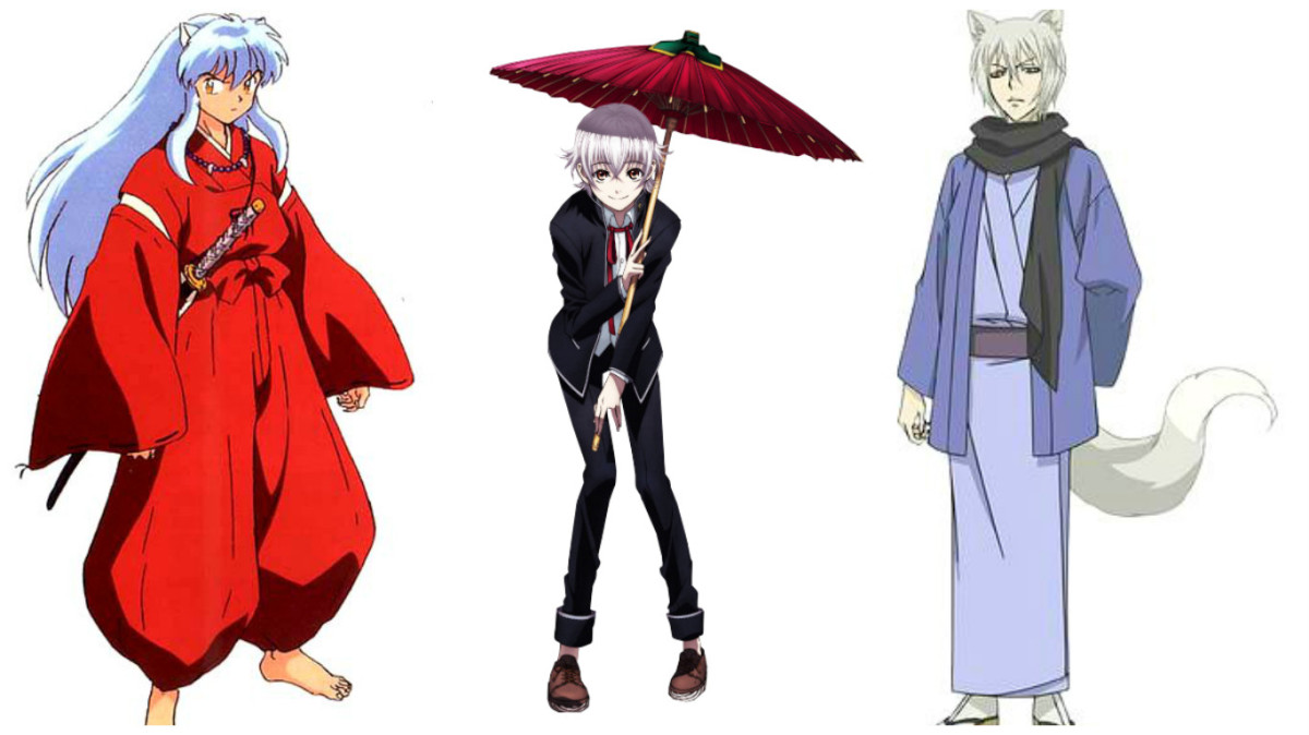 Featured image for The Not-So-Colourless White/Silver Hair Characters