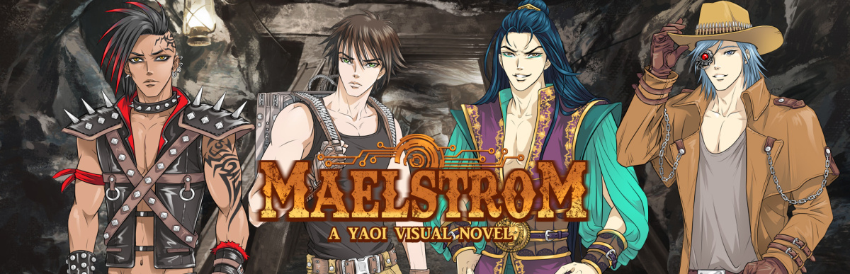 Featured image for Why You Should Support Maelstrom: A Yaoi Visual Novel