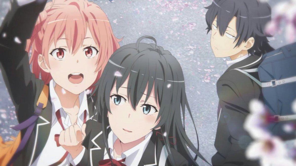 Featured image for Yahari Ore no Seishun Love Comedy wa Machigatteiru (Season 1-3) Review