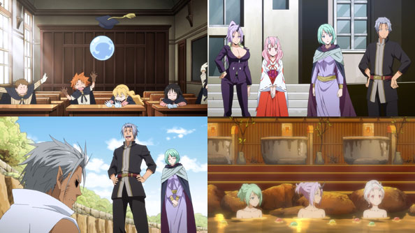 Featured image for TenSura – 28 – A War Full of Holes