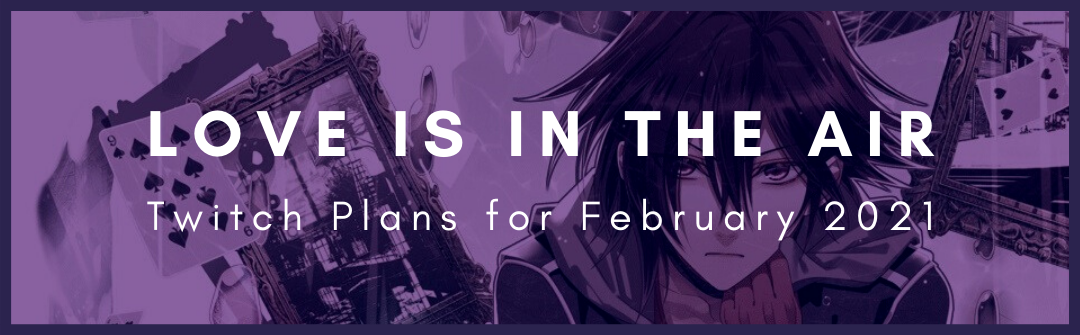 Background image for Love is in the air! || Twitch Announcement