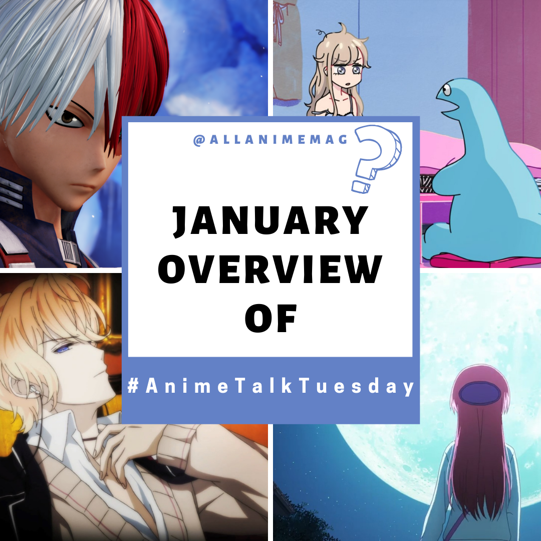 Featured image for Anime Talk January Round Up