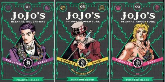 Featured image for JoJo's Bizarre Adventure: Phantom Blood (GN 1-3)