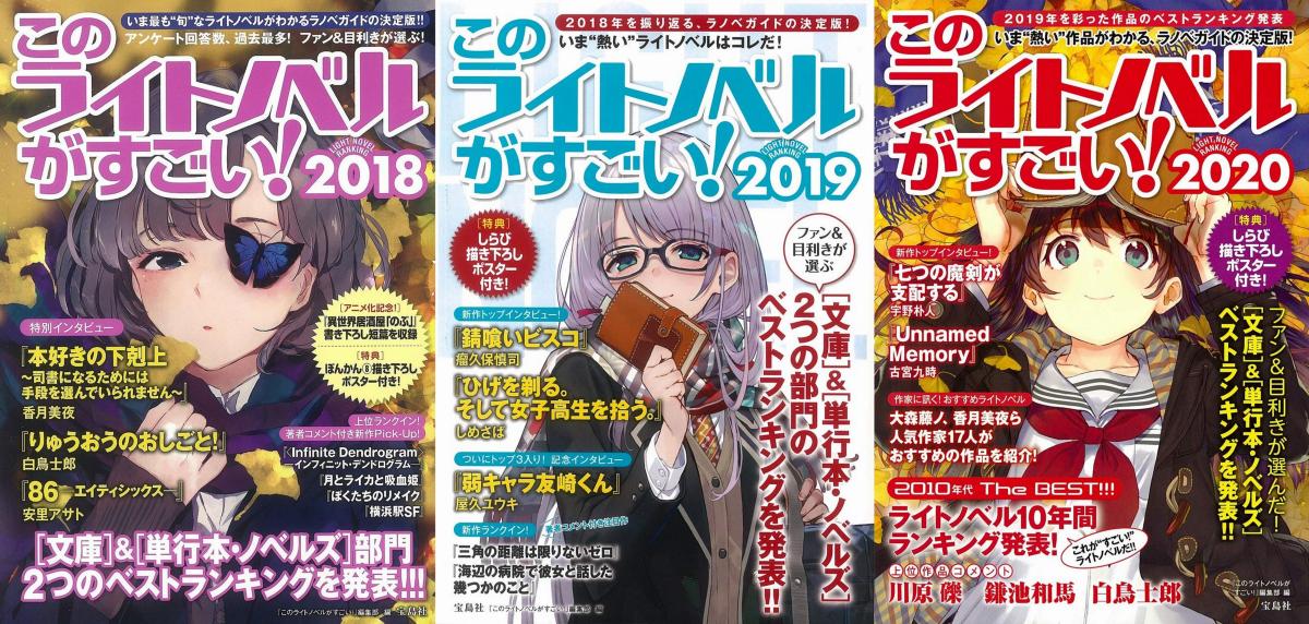 "Featured image for A Guide to ""Kono Light Novel ga Sugoi!"""