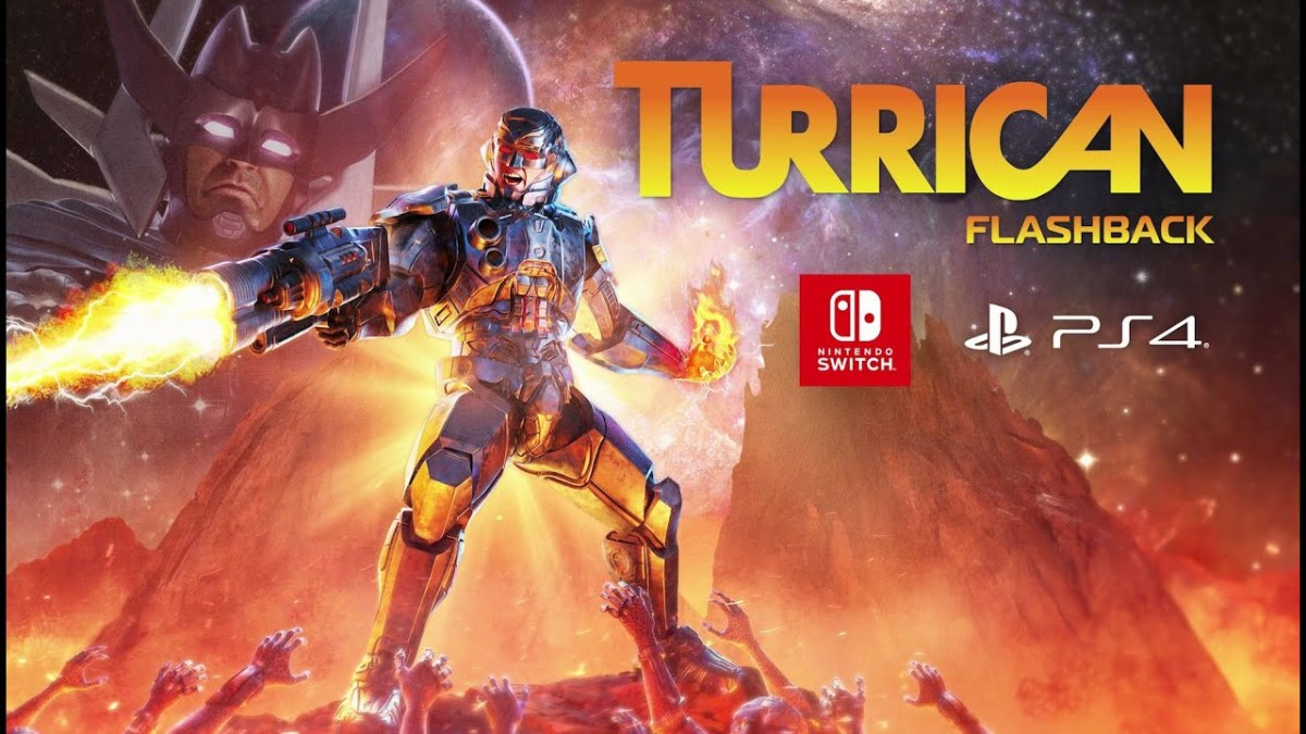 Featured image for Turrican Flashback Review Link